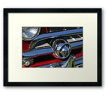 Ford grille Framed Print