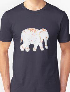 Flower Power Elephant Unisex T-Shirt