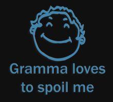 gramma spoil - blue Kids Tee