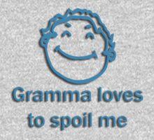 gramma spoil - blue One Piece - Long Sleeve