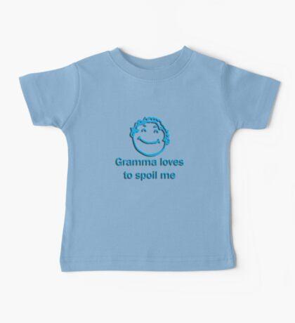 gramma spoil - blue Baby Tee