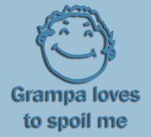 grampa spoil - blue Kids Clothes