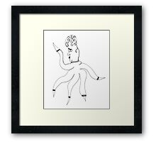 Wilma Whimsy Framed Print