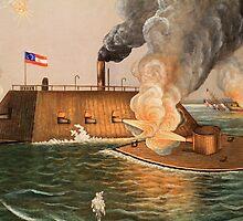 Battle of Hampton Roads by Thad Zajdowicz