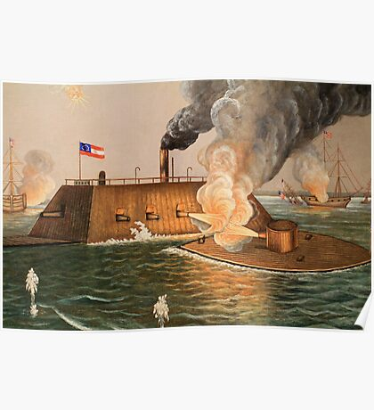 Battle of Hampton Roads Poster
