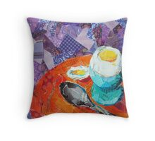 Soft Boiled Throw Pillow
