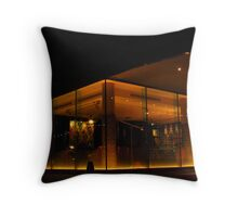 Relaxation at the Salthouse Harbour Hotel Throw Pillow