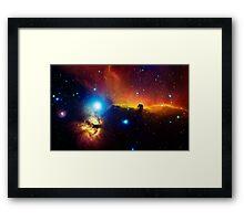 Alnitak region in Orion Framed Print