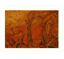 "Fire Storm: ""The Devils"" Art Print"