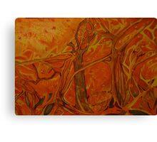 "Fire Storm: ""The Devils"" Canvas Print"