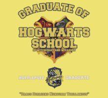 Graduate of Hogwarts School - Hufflepuff by JordanDefty
