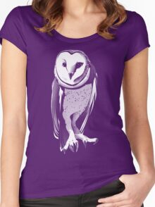 Just Owl Women's Fitted Scoop T-Shirt
