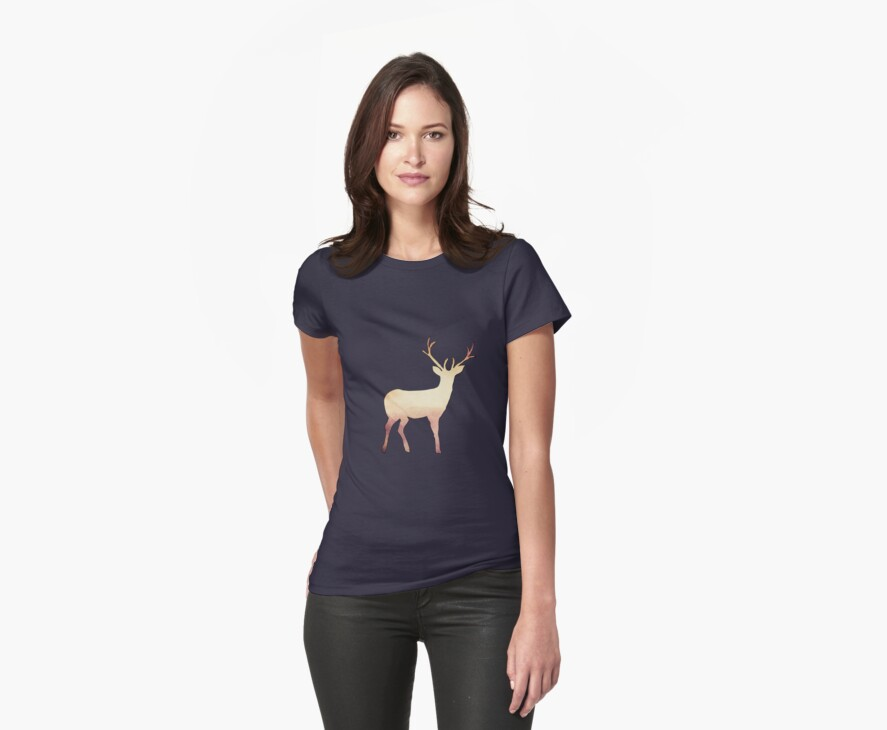 Deer II by Claire Dimond