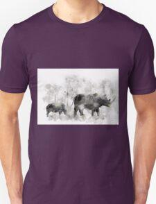 Rhino and Baby T-Shirt