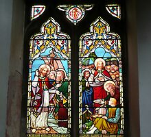 Stainglass window Appleby by Woodie
