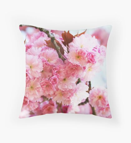 CherryBlossom Throw Pillow
