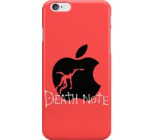 Black Apple iPhone Case/Skin