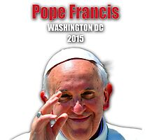 Pope Francis 2015 Wash DC Visit-close up by Celebrating Designs