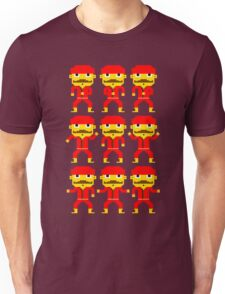 Dance of the pixel men Unisex T-Shirt