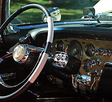 1956 Packard Caribbean Interior by Margan  Zajdowicz