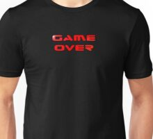 Game Over T-Shirt Sticker Video Gamers Tee Unisex T-Shirt