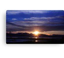 Mare Island Sunset 10 Canvas Print