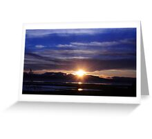 Mare Island Sunset 10 Greeting Card