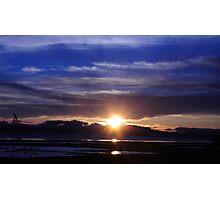 Mare Island Sunset 10 Photographic Print