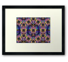 Tesselation IV Shield  (UF0247) Framed Print