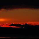 fiery hole torn in the sky by Lenny La Rue, IPA