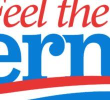 Feel the Bern Flames Sticker
