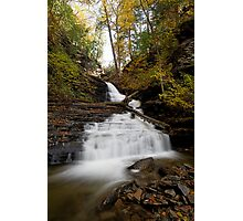 Huron Falls (Autumn) Photographic Print