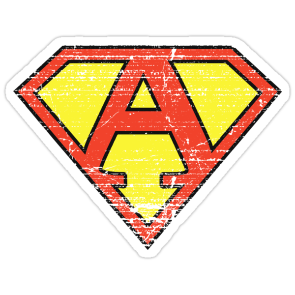 Super Vintage A Logo by Adam Campen
