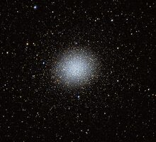 Omega Centauri - A Globular Cluster in Centaurus by Stuart Thomson