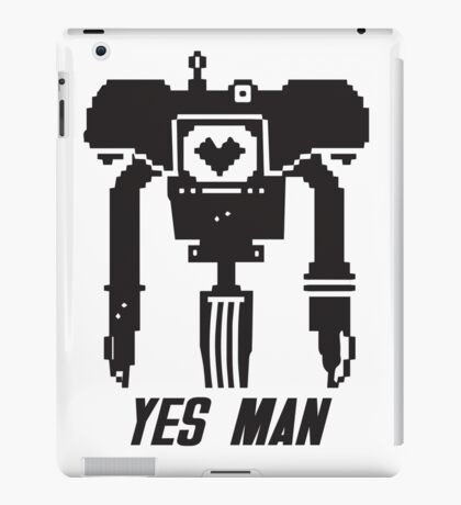 YES MAN: PIXEL VECTOR iPad Case/Skin