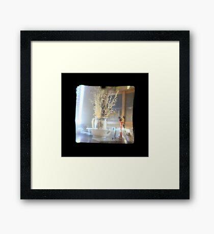 TTV Image ( Through The Viewfinder) Framed Print