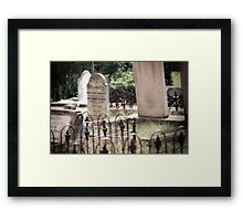 The sacred memory Framed Print