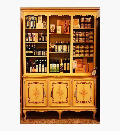 Yummy Shelves. Stresa, Italy 2011 Photographic Print