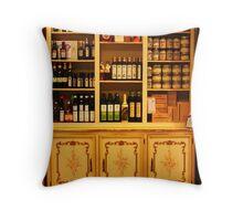 Yummy Shelves. Stresa, Italy 2011 Throw Pillow