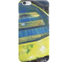 yellow boat iPhone Case/Skin