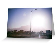 Sun in my Eyes Greeting Card