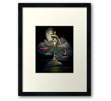 The Unbalanced Scales Framed Print