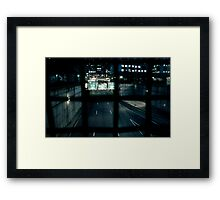 Restless  Framed Print