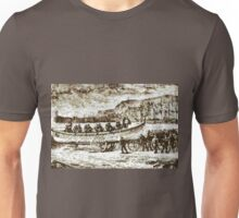 A Self-righting Lifeboat and Carriage ca.1880 Unisex T-Shirt