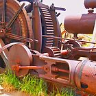 Massive steam powered mining winch by the57man