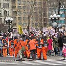 Anti-war Demonstration in Union Square, New York City by Patricia127