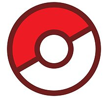 Pokeball (Flat Colors) by Geo-