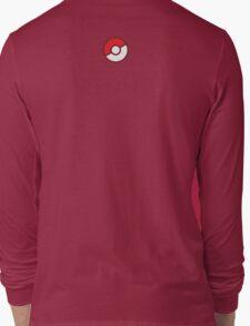 Pokeball (Flat Colors) Long Sleeve T-Shirt
