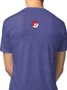 Pokeball (Flat Colors) Tri-blend T-Shirt
