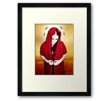 Mary Of Silence Framed Print